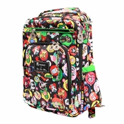 Ju-Ju-Be Be Right Back Backpack Style Diaper Bag - Tokidoki Bubble Trouble