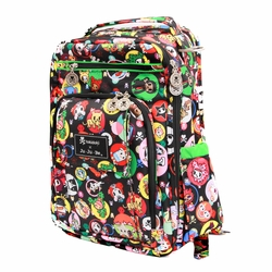 TEMPORARILY OUT OF STOCK  Ju-Ju-Be Be Right Back Backpack Style Diaper Bag - Tokidoki Bubble Trouble