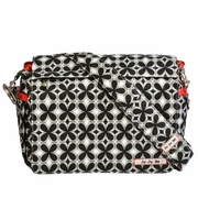 Ju-Ju-Be Better Be Messenger Style Diaper Bag - Crimson Kaleidoscope