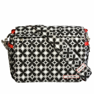 SOLD OUT Ju-Ju-Be Better Be Messenger Style Diaper Bag - Crimson Kaleidoscope