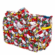 Ju-Ju-Be Better Be Messenger Style Diaper Bag - Hello Kitty Tick Tock