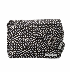 SOLD OUT Ju-Ju-Be Better Be Messenger Style Diaper Bag - Platinum Petals