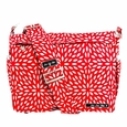Ju-Ju-Be Better Be Messenger Style Diaper Bag - Scarlet Petals