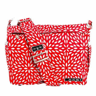 SOLD OUT Ju-Ju-Be Better Be Messenger Style Diaper Bag - Scarlet Petals