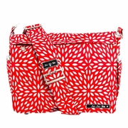 TEMPORARILY OUT OF STOCK Ju-Ju-Be Better Be Messenger Style Diaper Bag - Scarlet Petals