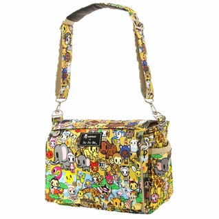 SOLD OUT Ju-Ju-Be Better Be Messenger Style Diaper Bag - Tokidoki Animalini