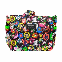 Ju-Ju-Be Better Be Messenger Style Diaper Bag - Tokidoki Bubble Trouble