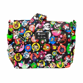 SOLD OUT  Ju-Ju-Be Better Be Messenger Style Diaper Bag - Tokidoki Bubble Trouble
