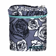 Ju Ju Be Fuel Cell Bottle Bag - Charcoal Roses