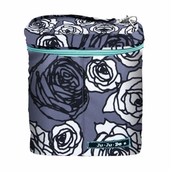 TEMPORARILY OUT OF STOCK Ju Ju Be Fuel Cell Bottle Bag - Charcoal Roses