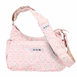 SOLD OUT Ju-Ju-Be Hobo Be Messenger Style Diaper Bag - Blush Frosting