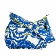 Ju-Ju-Be Hobo Be Diaper Bag - Cobalt Blossoms