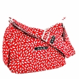 Ju-Ju-Be Hobo Be Messenger Style Diaper Bag - Scarlet Petals