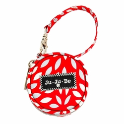 Ju Ju Be Paci Pod Pacifer Holder - Scarlet Petals