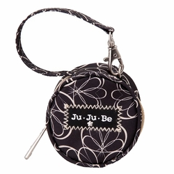 TEMPORARILY OUT OF STOCK Ju Ju Be Paci Pod Pacifier Holder - Licorice Twirl