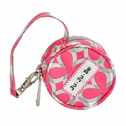 SOLD OUT Ju Ju Be Paci Pod Pacifier Holder - Pink Pinwheels