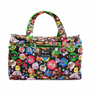 SOLD OUT Ju-Ju-Be Starlet Duffel Diaper Bag - Tokidoki Bubble Trouble