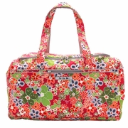 TEMPORARILY OUT OF STOCK  Ju-Ju-Be Super Star Duffel Diaper Bag - Perky Perenials