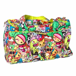 SOLD OUT Ju-Ju-Be Super Star Duffel Diaper Bag - Tokidoki Iconic