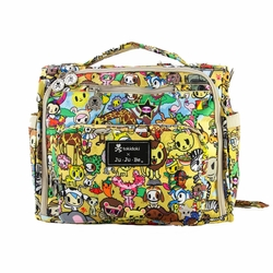 Ju-Ju-Be B.F.F. Tote/Backpack Style Diaper Bag - Tokidoki Animalini