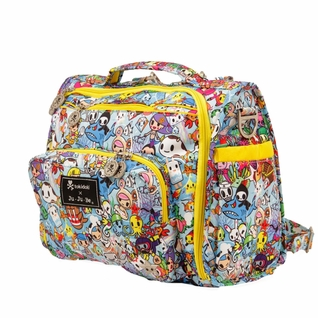 TEMORARILY OUT OF STOCK Ju-Ju-Be B.F.F. Tote/Backpack Style Diaper Bag - Tokidoki Sea Amo