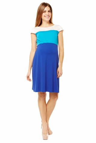 SOLD OUT Jules And Jim Color Block Maternity Dress
