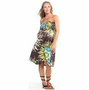 Jules & Jim Strapless Maternity Dress
