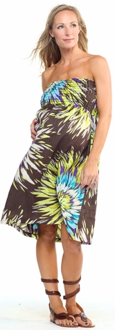 SOLD OUT Jules & Jim Strapless Maternity Dress