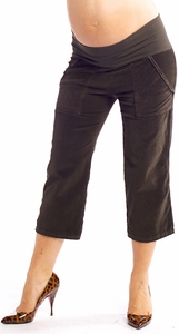 SOLD OUT Juliet Dream Skinny Cropped Cord Maternity Pants