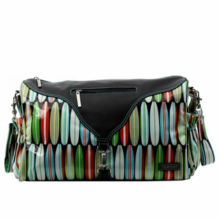 SOLD OUT Kalencom Astrid Tote Diaper Bag - Shark Bite