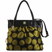 Kalencom City Slick The Wild Side Tote Diaper Bag - Bubbles Melon