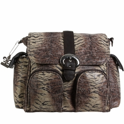 Kalencom Double Duty Diaper Bag Backpack - Safari