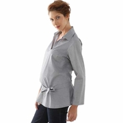 L'Avenue des Bebes Anissa Knotted Maternity Shirt