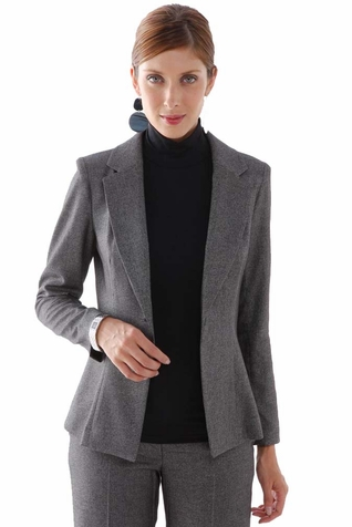 SOLD OUT L'Avenue des Bebes Single Breasted Maternity Suit Jacket - Grey
