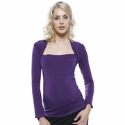 L'Avenue des Bebes Square Neck Maternity Top