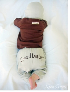 SOLD OUT L'ovedbaby Cotton Signature Pants