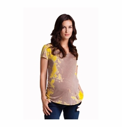 LA Made Scoop Neck Maternity Tee