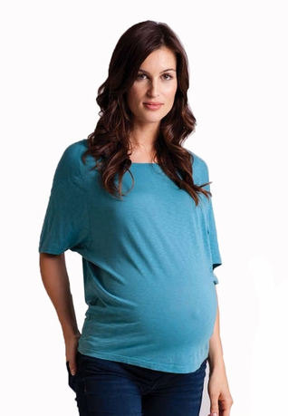 SOLD OUT LA Made Seamed Raglan Maternity Tee