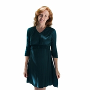 Larrivo Irene Maternity And Nursing Empire Waist Dress
