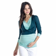 Lilac Cassie Lightweight Maternity Cardigan Sweater