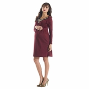 Lilac Collette Special Occasion Maternity Dress