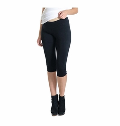 Lilac Everyday Cropped Maternity Legging