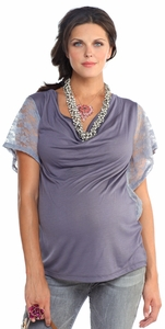 SOLD OUT Lilac Janae Maternity Top
