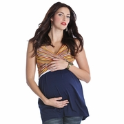 SOLD OUT Lilac Jen Crossover Maternity And Nursing Top