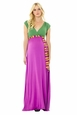 Lilac Jill Maternity And Nursing Maxi Dress
