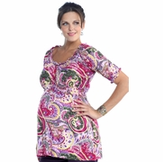 Lilac Kiarah Maternity Top