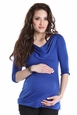 Lilac Kristen Draped Neck Maternity Tunic