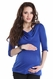 SOLD OUT Lilac Kristen Draped Neck Maternity Tunic