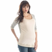 Lilac Lee Raglan Sleeve Maternity Tee