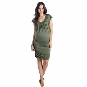 Lilac Mila Maternity Nursing Dress